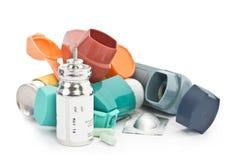 Trattamento di asma immagine stock libera da diritti