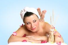 Trattamento di bellezza di terapia dell'aroma Immagine Stock Libera da Diritti