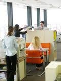 Trattamento di lavoro di ufficio Fotografia Stock