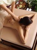 Trattamento di massaggio & della stazione termale Fotografia Stock Libera da Diritti