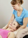Trattamento di osteopatia Immagine Stock Libera da Diritti