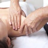 Trattamento osteopatico immagine stock