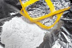 Trattare della cocaina Immagine Stock