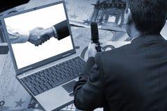 Trattare software Fotografie Stock Libere da Diritti