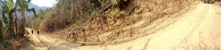 Tratto della collina di Chittagong Immagini Stock