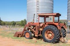 Trattore agricolo d'annata Fotografie Stock