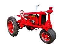 Trattore d'annata di agricoltura di Farmall F20 Immagini Stock