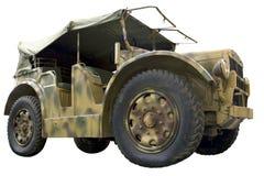 Trattore a ruote militari Immagine Stock