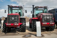 Trattori di produzione vegetale di Kirovskiy Immagini Stock Libere da Diritti