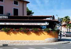 Trattoria Istra, Porec Croatia Stock Photography