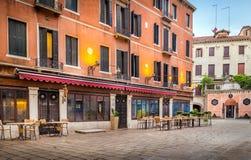 Trattoria veneciano foto de archivo libre de regalías
