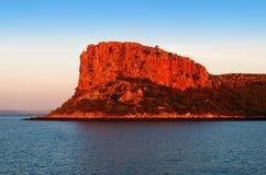 Tratwa punktu Kimberley wybrzeże Fotografia Stock