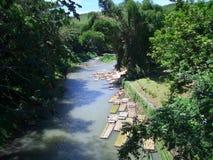 tratwy rzeki Obraz Royalty Free