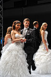 Trau Dich Frankfurt 2012. Cute wedding pairs Stock Photo