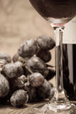 Traube und Wein Lizenzfreie Stockbilder