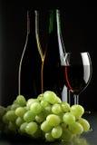 Traube und Weine Stockbild