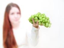 Trauben-Angebot Lizenzfreies Stockfoto