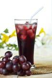 Traubensaft, gesundes Getränk für entspannen sich Lizenzfreie Stockbilder