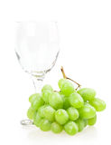 Traubenweinglas Stockbild