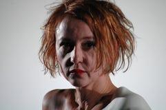 Trauer muss el tragen de Elektra fotografía de archivo libre de regalías
