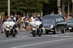 Trauerzug für Senator Kennedy stockfoto