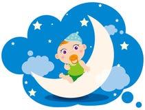 Traum des Babys Lizenzfreie Stockfotografie