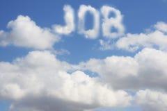 Traum des Jobs Lizenzfreie Stockbilder