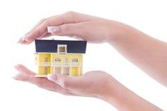 Traum eines Hauses Lizenzfreie Stockfotos