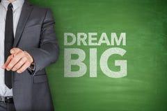 Traum groß auf Tafel Lizenzfreie Stockbilder