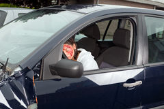 Trauma car crash Stock Photos