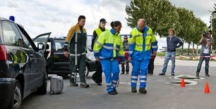 Trauma-Team Lizenzfreies Stockfoto