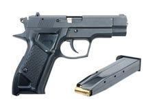 traumatisk pistol Arkivbild