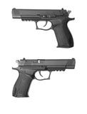 Traumatiskt vapen för Fort-18r Arkivfoto