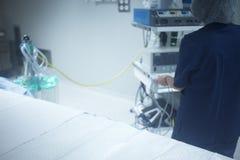 Traumatology orthopedic surgery hospital operating room Royalty Free Stock Images