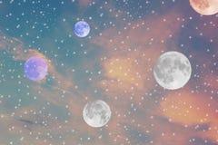 Traumbild des Himmels lizenzfreie stockfotografie