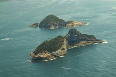 Trauminseln, Cagarras-Inseln Rio de Janeiro Brazil stockfotografie