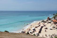 Traumlandstrand auf Bali lizenzfreies stockfoto