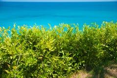 Traumlandstrand in Bali stockbild
