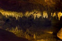 Traumsee in den Luray Höhlen Stockfoto