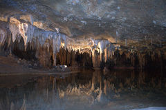Traumsee Luray Höhlen Shenandoah Lizenzfreie Stockbilder
