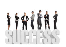 Traumteam-Erfolg Lizenzfreie Stockfotografie