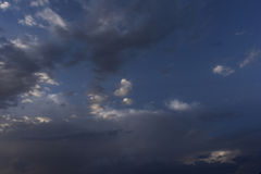 Traumwolken stockfoto