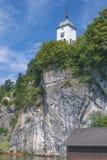 Traunkirchen,Lake Traunsee,Austria Royalty Free Stock Image