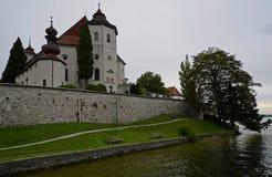 Traunkirchen Pfarrkirche Maria Kronung Photos stock