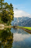 Traunkirchen, Traunsee Immagine Stock