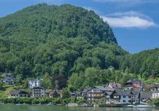 Traunkirchen,Traunsee,upper Austria Royalty Free Stock Photo
