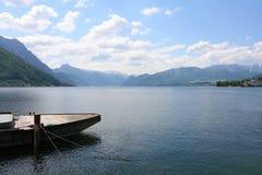 Traunsee湖- Gmunden,奥地利 图库摄影