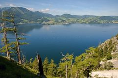 Traunsee, Austria Stock Image