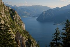 Traunsee, Austria Royalty Free Stock Images