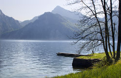 Traunsee - austria Stock Photo